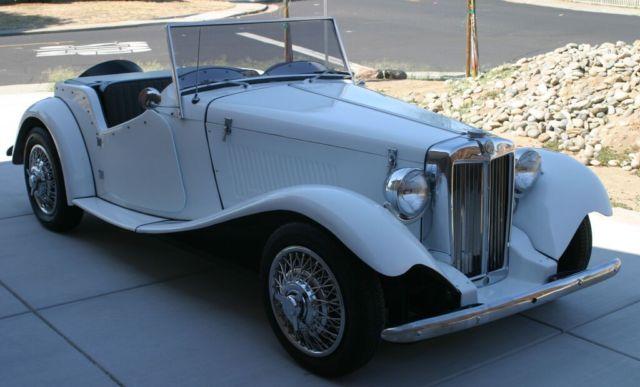 1952 Mg Td Kit Car On 1966 Vw Bug Chassis Classic Mg