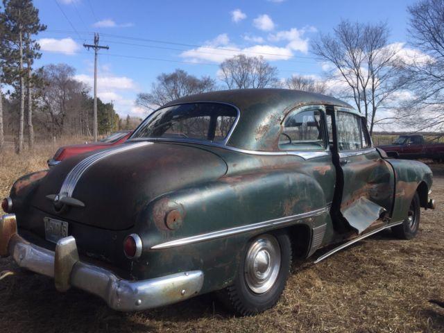 1952 Pontiac Chieftain 2door Sedan Project Parts Classic
