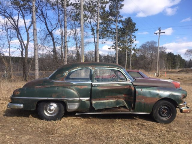 1952 Pontiac Chieftain 2door Sedan Project Parts Classic