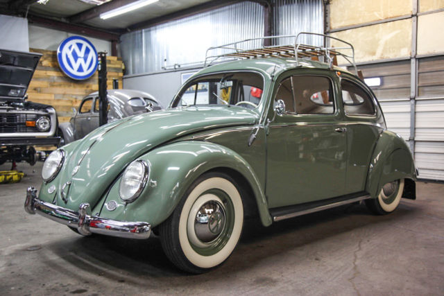 volkswagen split window beetle zwitter hp fender skirts roof rack wow classic