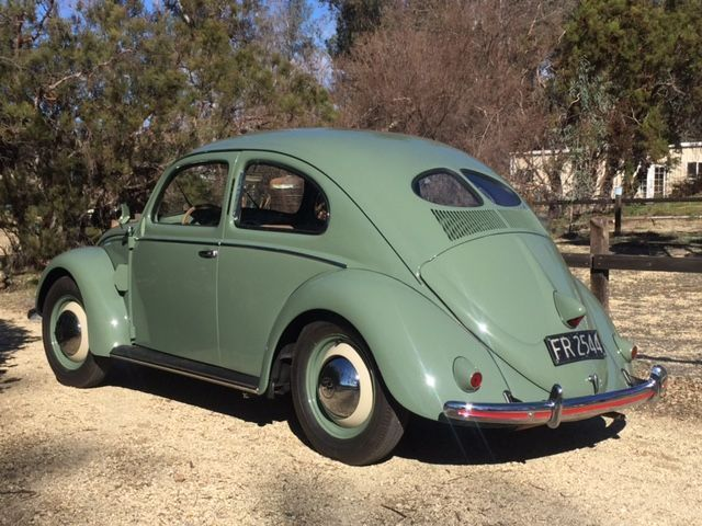 1952 vw beetle deluxe split window sedan restored for 1952 split window vw bug