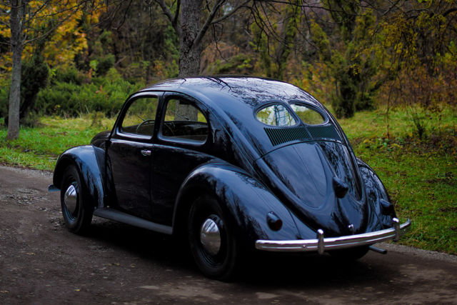 Vw Classic Beetle Type A Export Standard