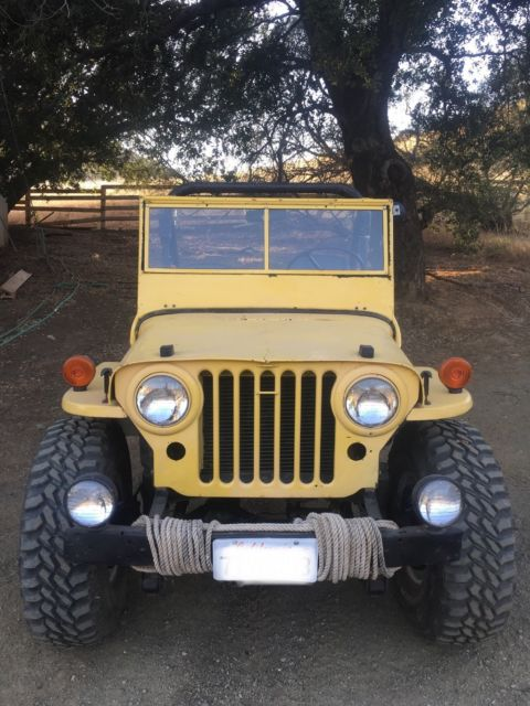 Used Mud Tires For Sale >> 1952 Willys Jeep CJ3A - Classic Willys 1952 for sale