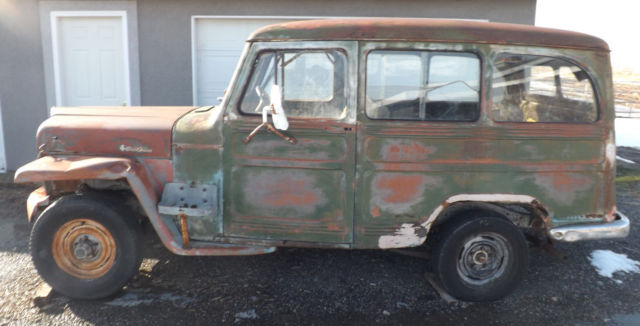 1952 Willys Jeep Station Wagon Classic Jeep Wagoneer