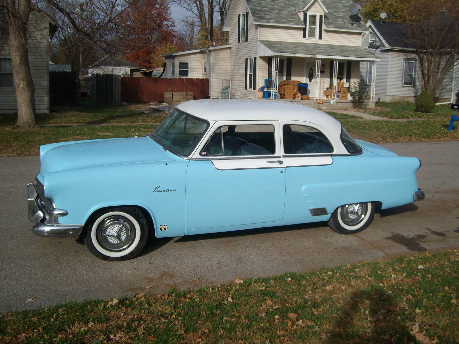 1953 53 Ford Mainline Custom Hot Rod 2 Door Sedan Cruiser Classic 1954 Main Line Other For Sale