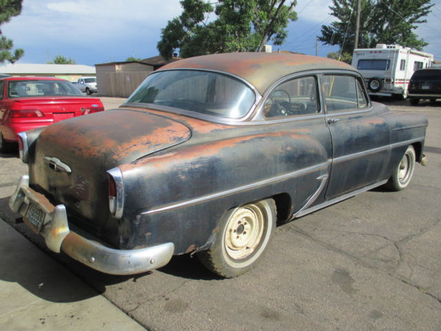 1953 54 Chevy 2Dr Sedan - Great Project / Parts Car Rat ...
