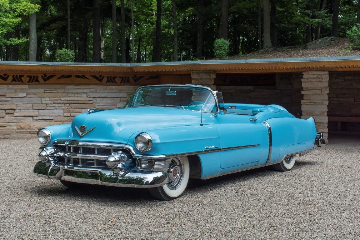 1953 Cadillac Eldorado Convertible 448 Of 532 Built Classic Lincoln Continental