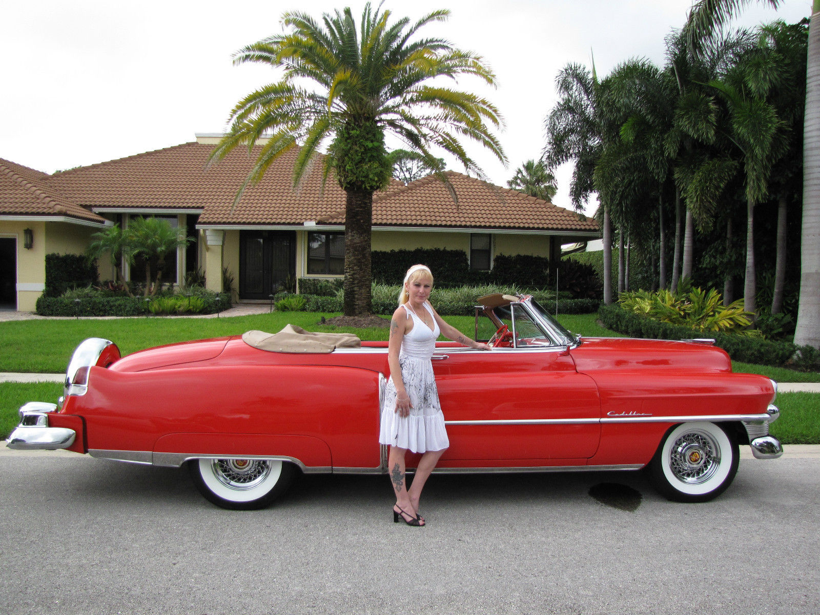 1953 Cadillac Series 62 Convertable Quot Rolling Art