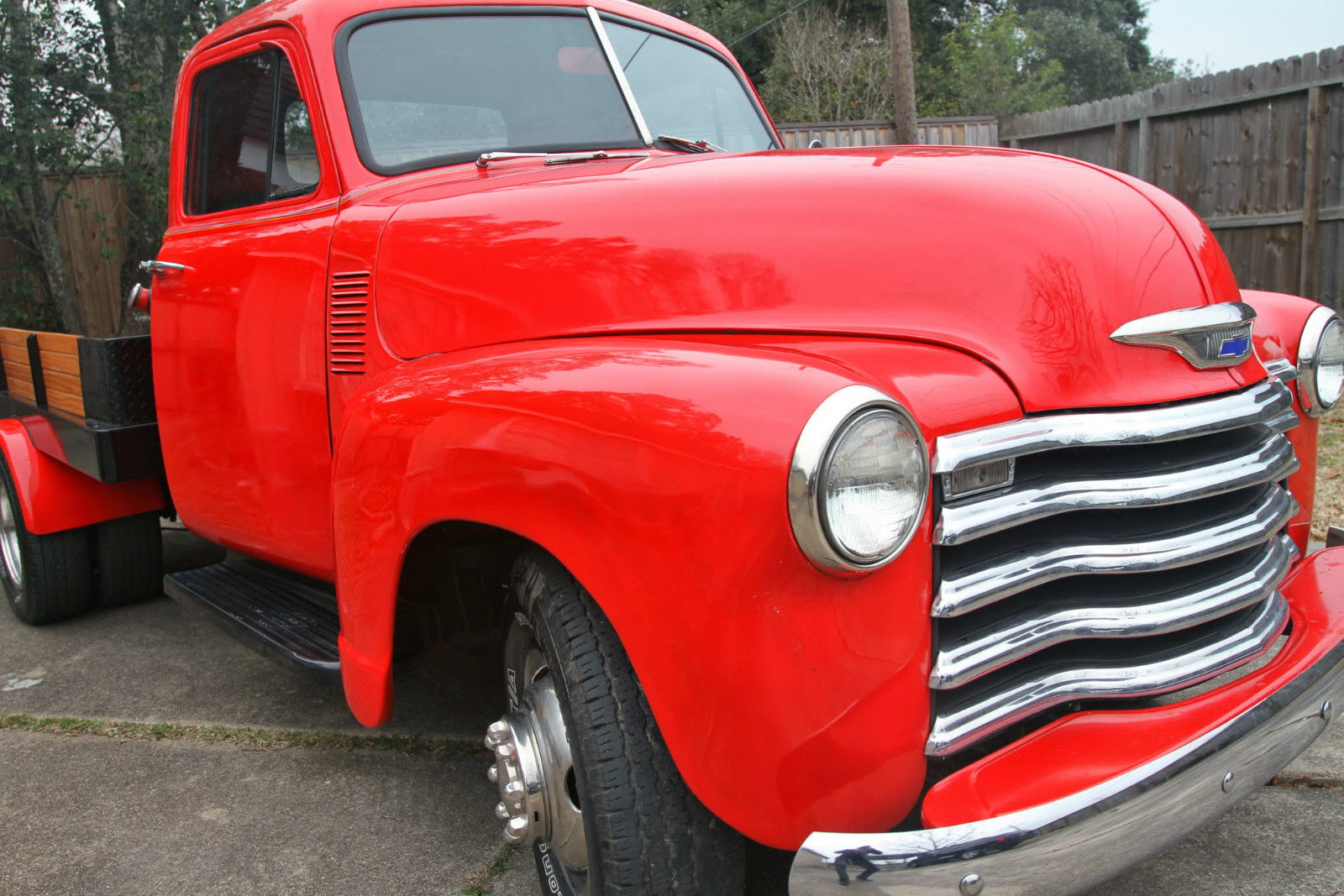 1953 chevrolet 1 ton pick up