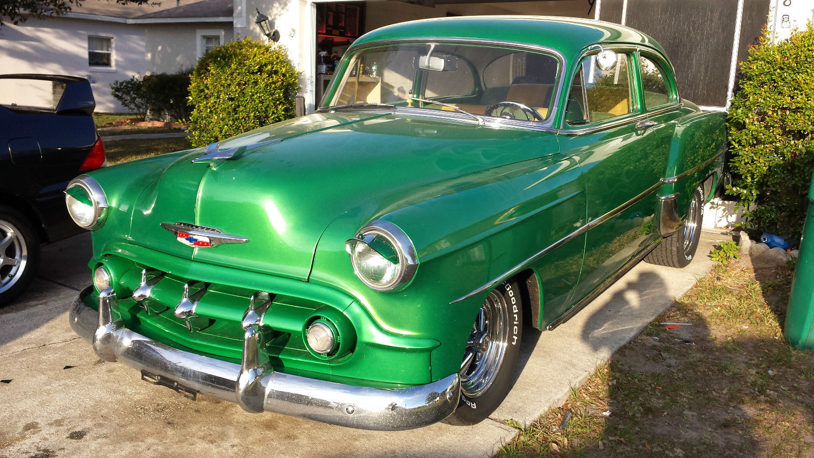 1953 chevrolet bel air base coupe 2 door 350 v8 classic for 1953 chevrolet belair 4 door