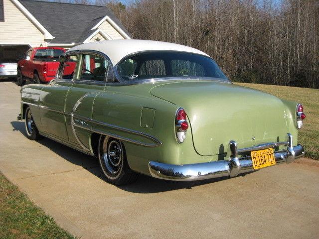 1953 Chevrolet Bel Air Sedan 4 Door 3 8l 235 Cu In 3 Spd