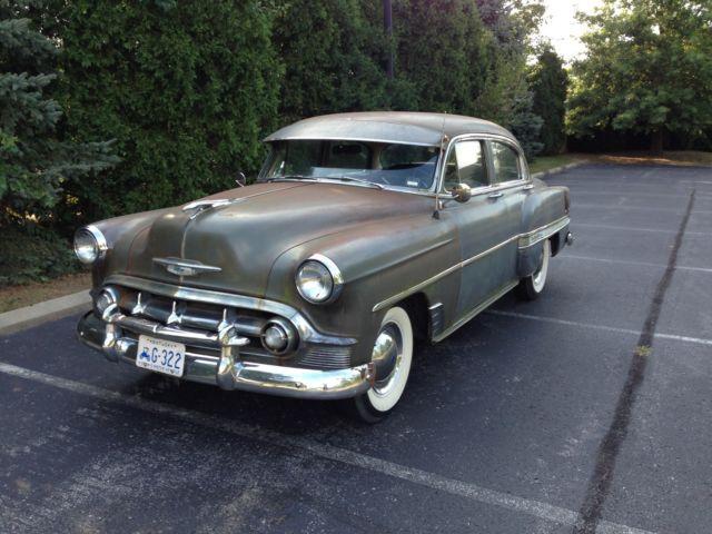 1953 chevrolet belair 4 door sedan classic chevrolet bel for 1953 chevrolet belair 4 door sedan