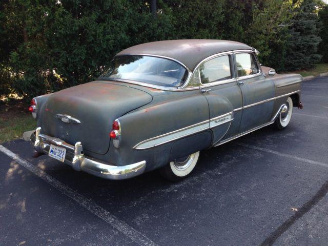 1953 chevrolet belair 4 door sedan classic chevrolet bel for 1953 belair 4 door