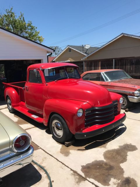 1953 chevrolet pickup 5 window truck classic for 1953 5 window chevy truck for sale