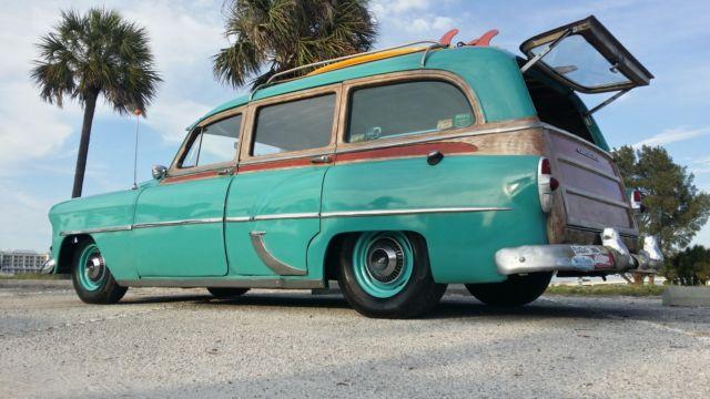 1953 Chevrolet Tin Woodie Wagon Rat Street Resto Rod