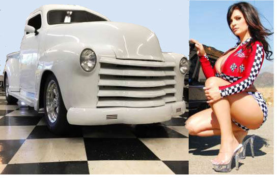 1953 Chevrolet Truck HOT ROD Pickup Southern Solid Steel ...