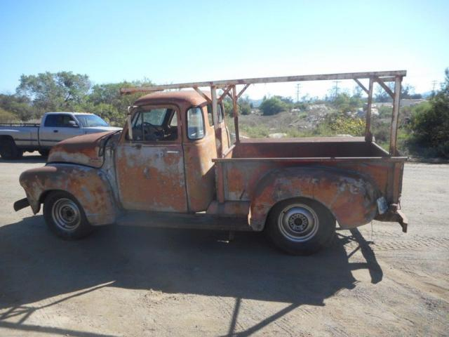 1953 chevy 3100 5 window truck classic chevrolet other for 1953 5 window
