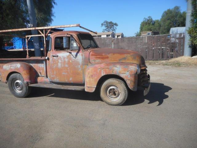 1953 chevy 3100 5 window truck classic chevrolet other for 1953 5 window chevy truck for sale
