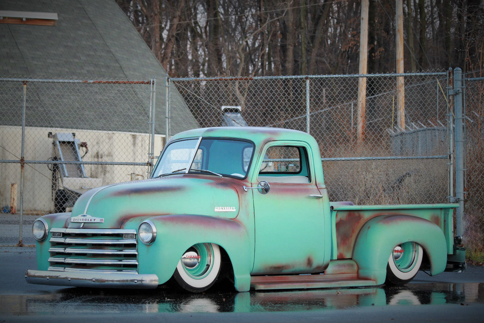 1953 Chevy Truck On S10 Frame 1949