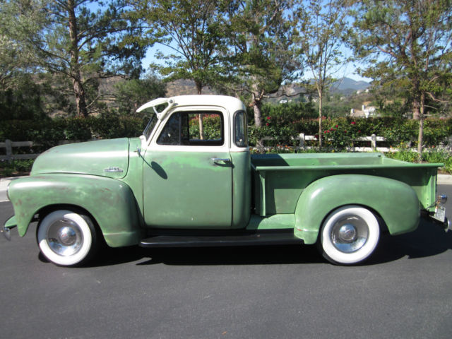 Thousand Oaks Chevy >> 1953 Chevy 3100 pickup deluxe 5 window cab all original ...