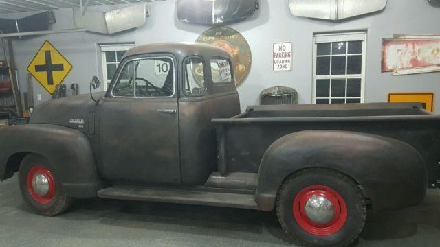 1953 Chevy 5 window deluxe Pickup Truck 3100 1/2 ton short ...