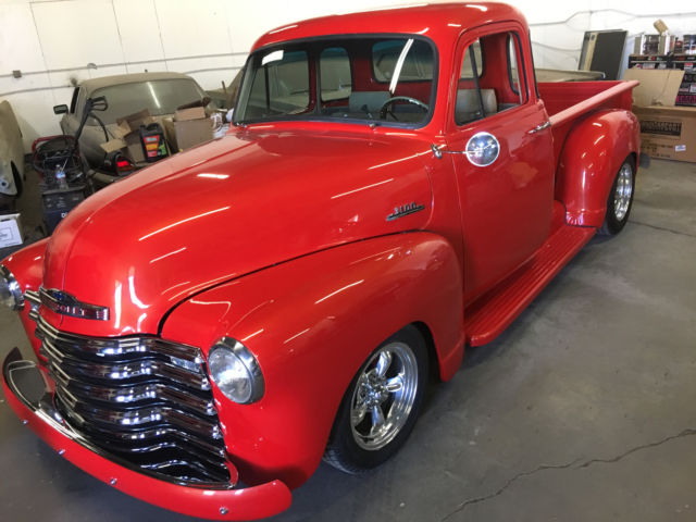 1953 chevy 5 window pickup street rod classic for 1953 chevy truck for sale 5 window
