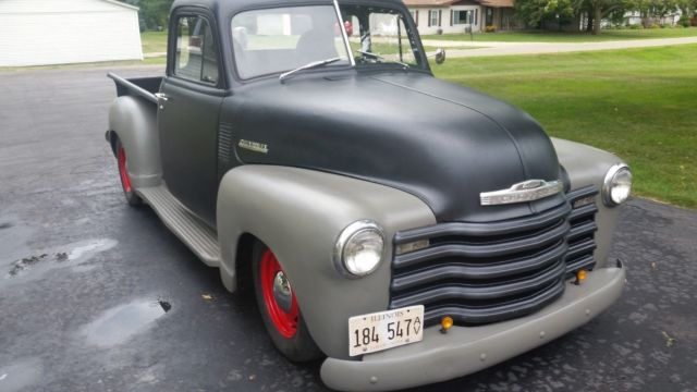 1953 chevy 5 window shortbed truck pickup shop truck rat rod 1949 Chevy Truck Rat Rod prevnext