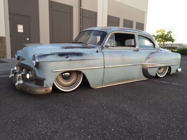 1953 chevy bel air custom air ride 210 2 door post patina for 1953 chevrolet belair 4 door