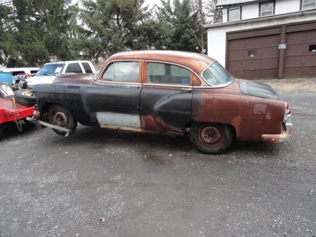 1953 chevy belair 4 door project car classic for 1953 chevrolet belair 4 door