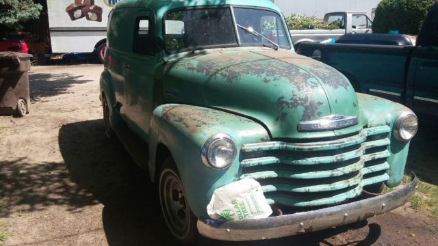 "Classic Chevy Trucks For Sale >> 1953 Chevy Panel Truck ""BARN FIND"" - Classic Chevrolet panel truck 1953 for sale"