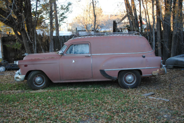 1953 Chevy Sedan Delivery Wagon Classic Chevrolet Other