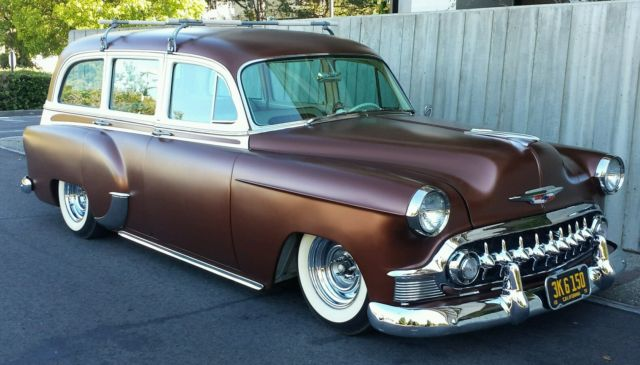 1953 chevy tin woody surf wagon hot rod with jaguar rearend and mustang ii classic chevrolet. Black Bedroom Furniture Sets. Home Design Ideas