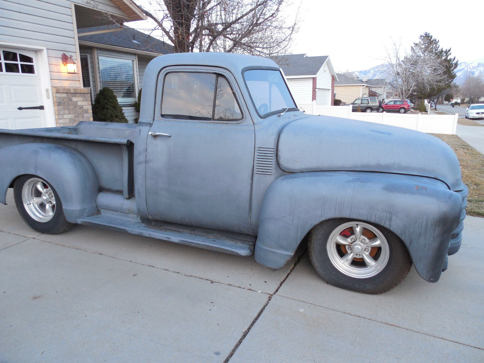 1953 chevy truck not gmc not 5 window but could be a shop for 1953 gmc 5 window