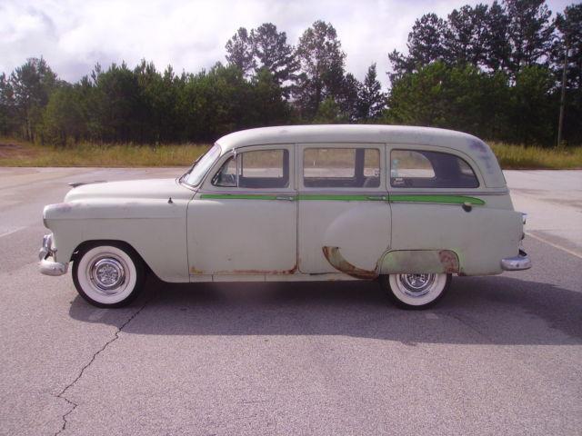 1953 Chevy Wagon 4 Door 6 Cylinder 3 Speed Aluminum Radiator