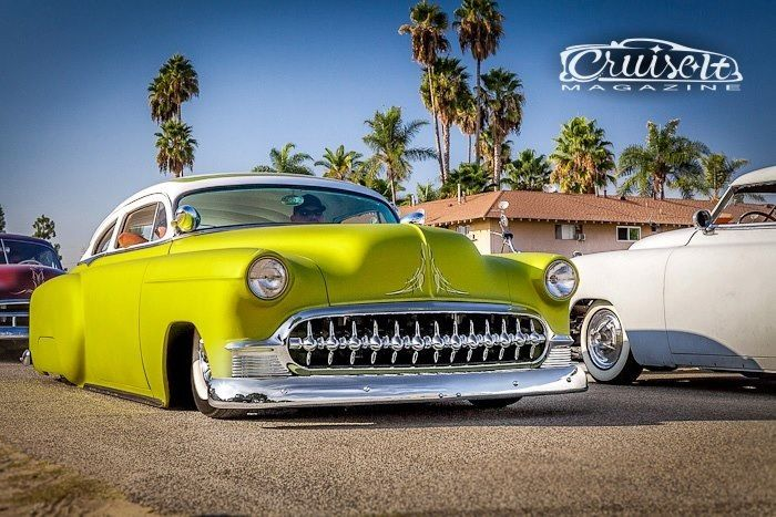 1953 Chopped Chevy Kustom Sled Hot Rod Not A Ratrod Rat