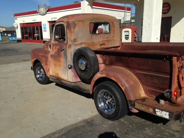 1953 Dodge 1/2 ton Pick up Truck short Bed Job-Rated 73k ...  1953 Dodge Flatbed Truck