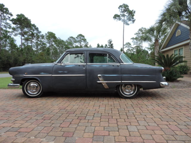 1953 ford customline 4 door sedan manual transmission for 1953 ford 4 door sedan