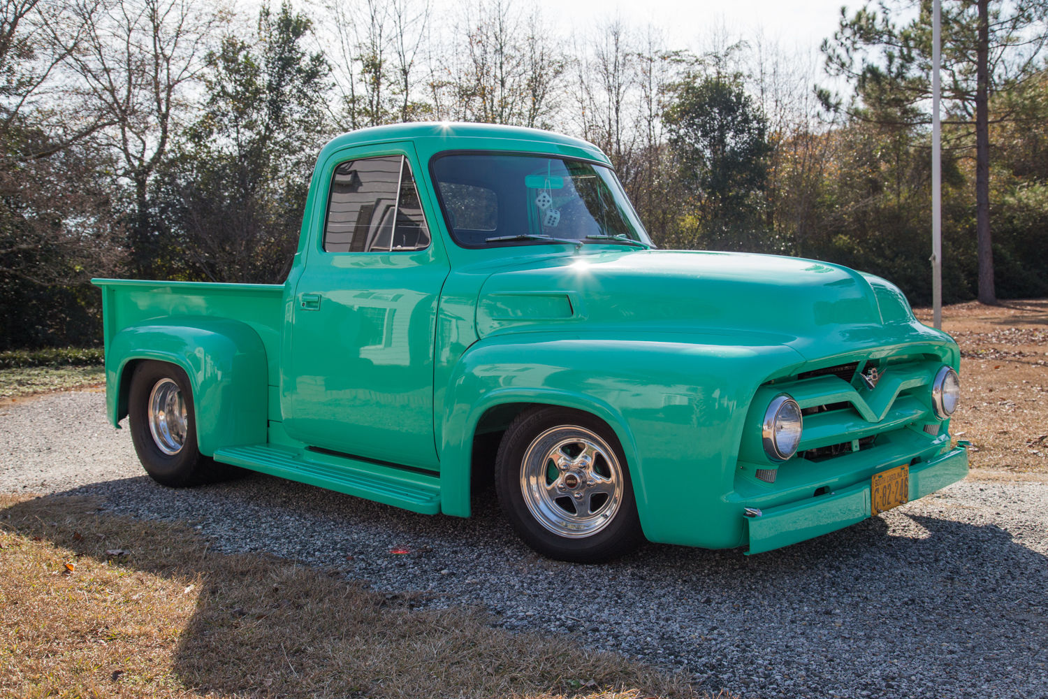 1953 ford f100 prostreet fully restored pickup with many options classic ford f 100 1953 for sale. Black Bedroom Furniture Sets. Home Design Ideas