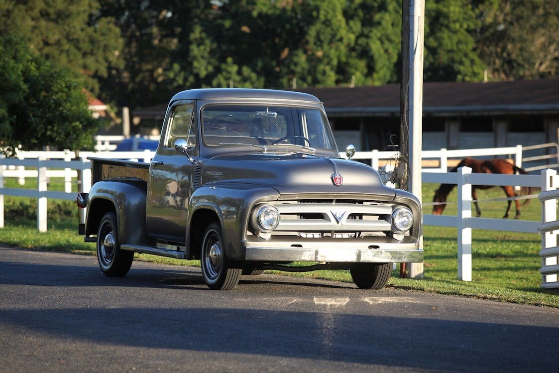 1953 Ford F100 Truck Frame Off Restoration Classic F 100 1955 Pick Up For Sale