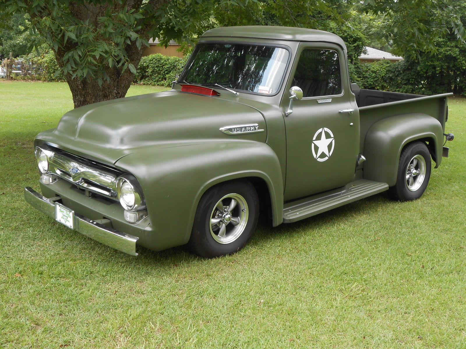 1953 ford F100 truck , rat rod , military ,custom - Classic Ford F ...