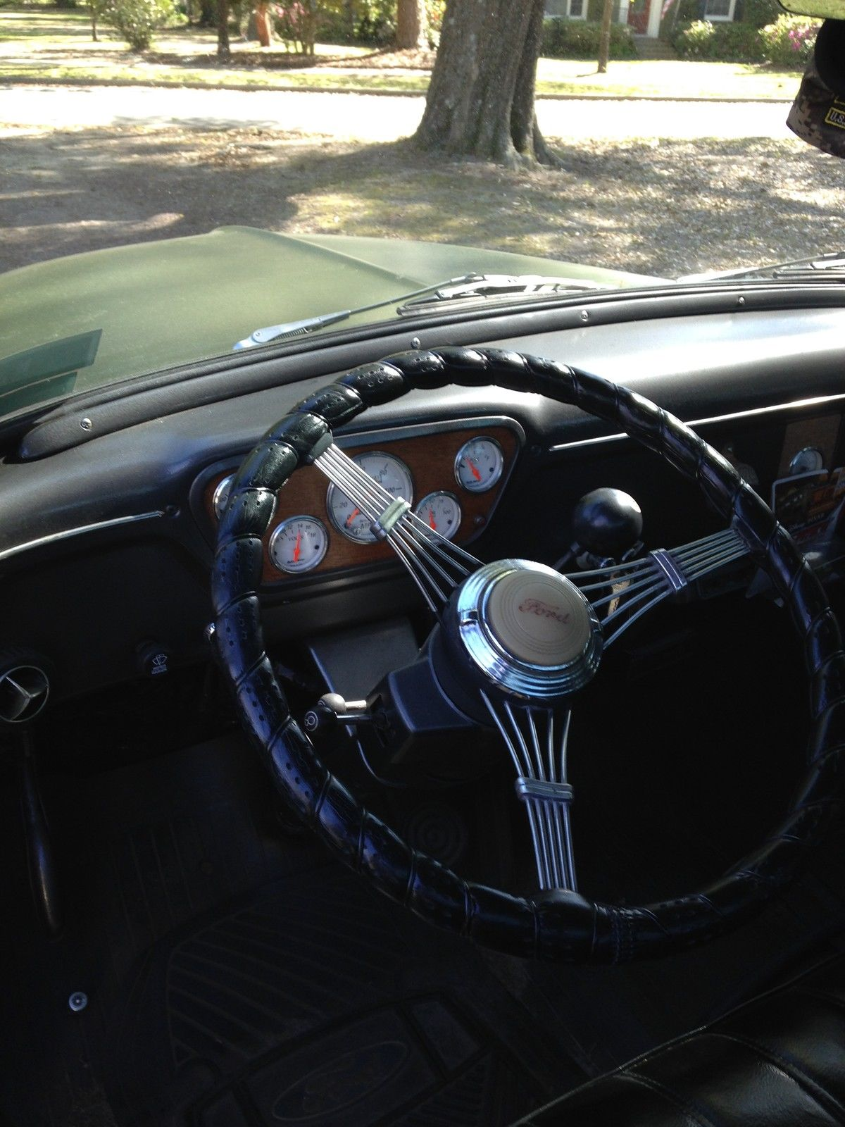 1953 Ford F100 Truck Rat Rod Military Custom