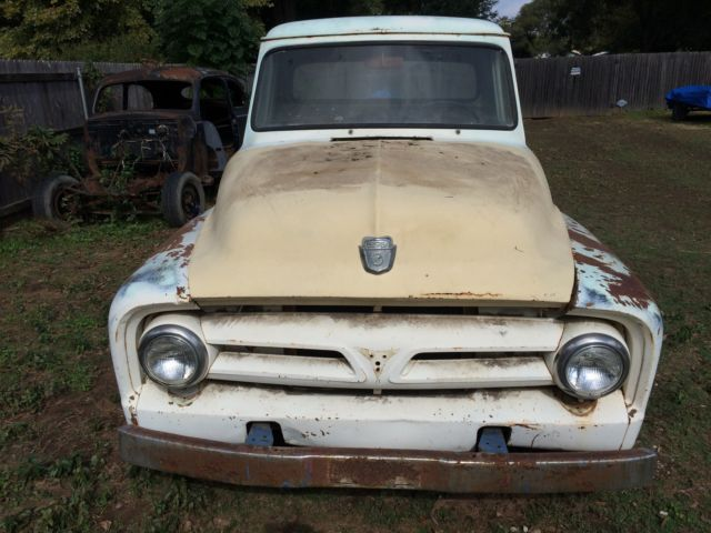 1953 Ford F250 F 250 For Project Or Parts Hot Rod Rat Rod