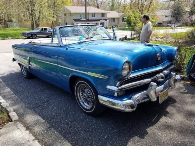 1953 Ford Sunliner Convertible 239ci Flathead V8 3 On The