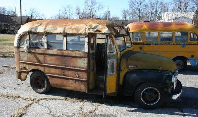1953 GMC SHORT BUS RAT ROD - Classic GMC Other 1953 for sale
