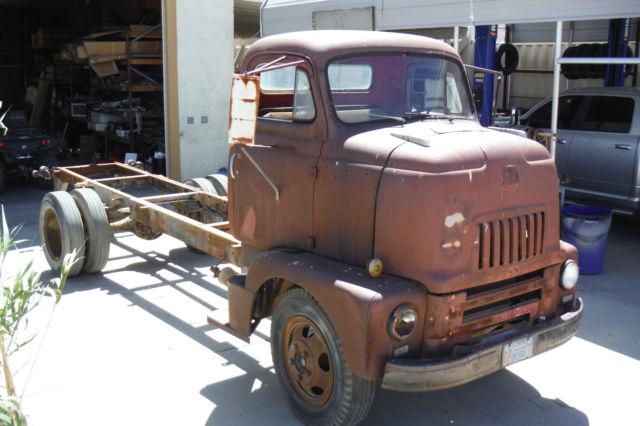 1953 INTERNATIONAL COE GREAT CAR HAULER CALIFORNIA DESERT ...