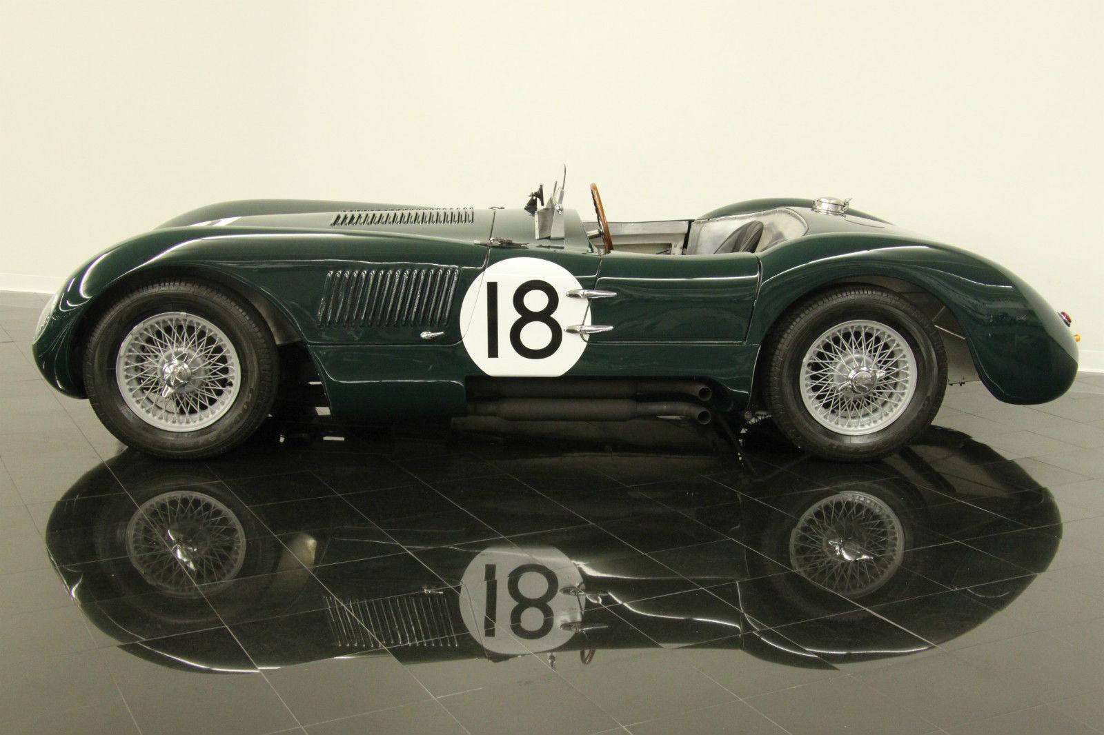 1953 Jaguar C-Type Alloy Body Replica #18 Lemans Racer 4 2L