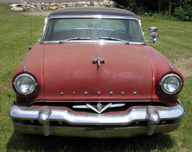 1953 lincoln capri 2 door coupe with continental kit classic lincoln capri coupe 1953 for sale. Black Bedroom Furniture Sets. Home Design Ideas