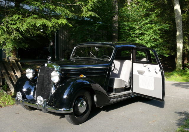 1953 mercedes 170 ds sedan classic mercedes benz 170 ds