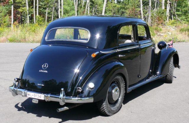 1953 mercedes 170 ds sedan classic mercedes benz 170 ds for 1953 mercedes benz 220 sedan for sale