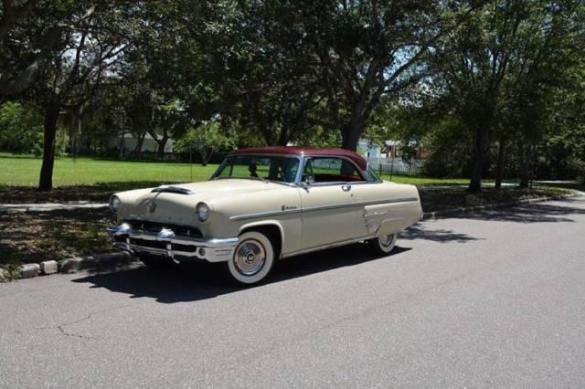 1953 mercury monterey hardtop 40 534 miles beige burgundy coupe v8 other 256 ci classic. Black Bedroom Furniture Sets. Home Design Ideas
